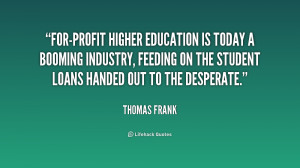 Higher Education Quotes