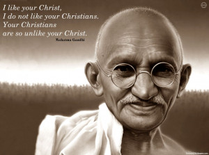 Ghandi Quotes HD Wallpaper 12