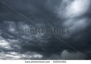 Foggy Night Sky Image Cloudy Business Letter Layout Femrat Picture