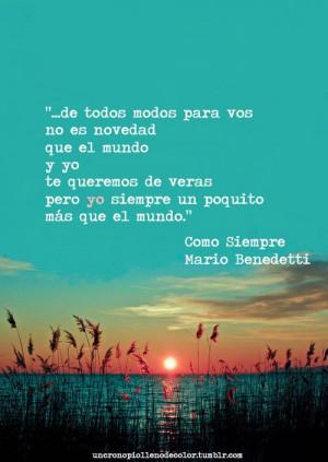 Mario Benedetti Quotes Quote