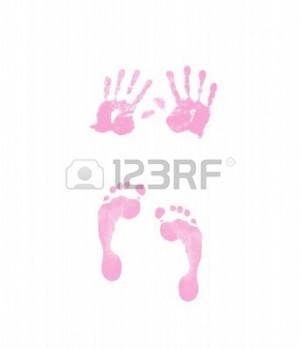 baby footprints and handprints Newborn Baby Footprints And Handprints