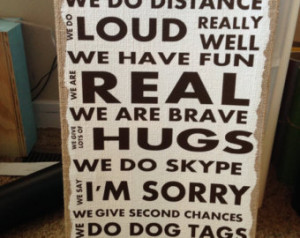 Military deployment family quote vi nyl ...
