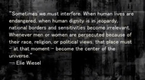 Quotes from elie weisel.?