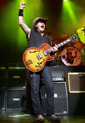 ted nugent ted nugent performing live at the indigo2 photo credit wenn ...