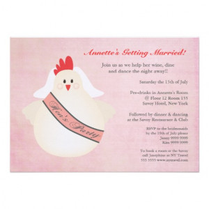 Hen Party Invites