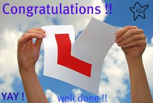 Re: Wooohhoo my son passed his driving test