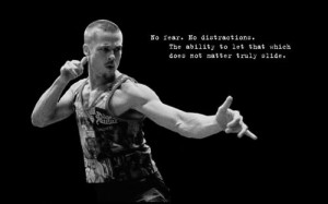 quotes Fight Club Brad Pitt typography grayscale Tyler Durden monoc...
