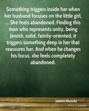 Juliette Binoche - Something triggers inside her when her husband ...