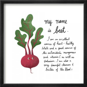 ... - Vegetable art Print - great for childrens rooms. $13.00, via Etsy