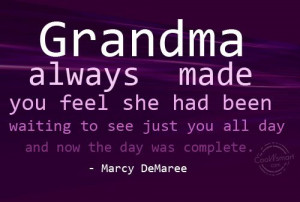 Grandmother Grandma Quotes