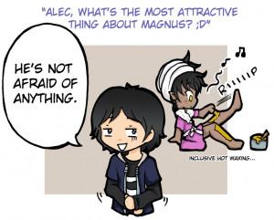 Mortal Instruments Alec and Magnus