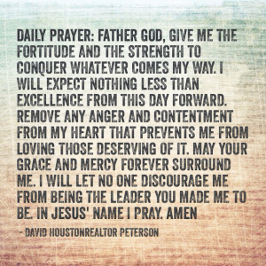 Prayerful christian prayer and to remain steadfast