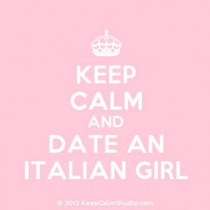 Girls Rule Quotes Italian girls rule! found on keepcalmstudio.com