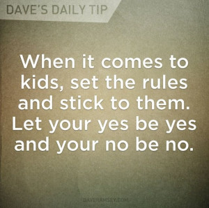 It's best to teach your children discipline now. It's difficult to ...