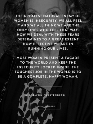 Diane von Furstenberg's Best Quotes Ever to Inspire an Amazing 2015