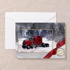 Truck in Snow Christmas Cards (Pk of 20) for
