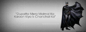 Funny Urdu and Hindi Facebook Profile Timeline Covers Photo