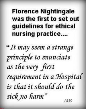 Top 20 Florence Nightingale Quotes For Nurses: http://www.nursebuff ...