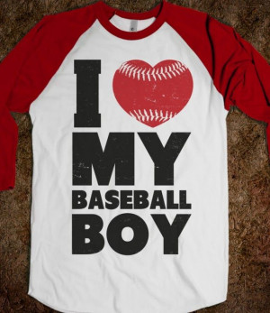 Love My Baseball Boy - Athletica - Skreened T-shirts, Organic Shirts ...