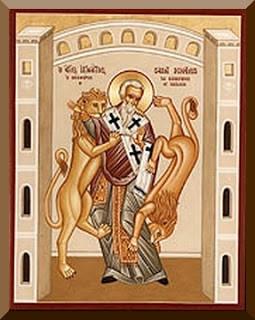 Saint Quote : Saint Ignatius of Antioch