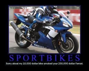 sport bike meme