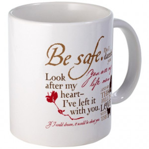 Bella Gifts > Bella Mugs > Edward Cullen Quotes Mug
