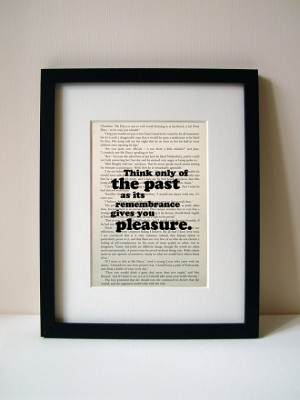Pride And Prejudice - Book Quote Print - Inspirational Quote ...