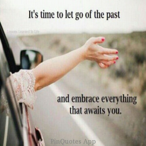 Don't dwell in the past