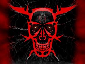 skull skulls dark demon satanic satan evil occult f wallpaper ...