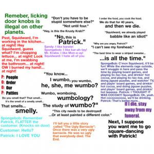 funny spongebob quotes