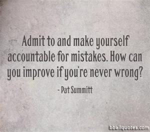 Pat Summitt Basketball Quotes