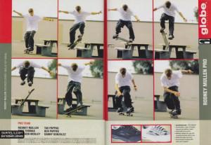 Globe Shoes - Rodney Mullen Pro Shoe Ad (1999)