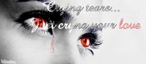 Blood Tears Ipad Wallpaper