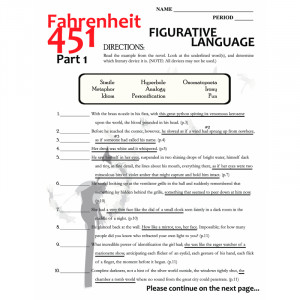FAHRENHEIT 451 Figurative Language Analyzer (141 quotes)