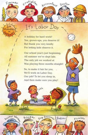 The Meaningful Time Rest With Family On It's Labor Day Poem.