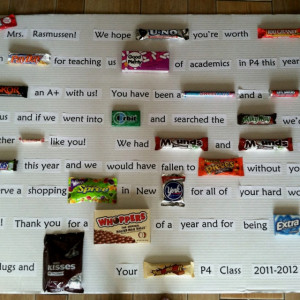 Candy Bar Sayings Gift, candy bar sayings