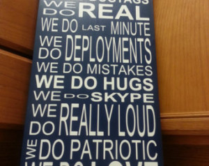 ... Sign on Solid wood Customizable, Military, Army, Air Force, Deployment