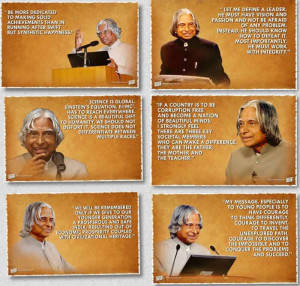 Most Popular Inspirational Quotes From A P J Abdul Kalam