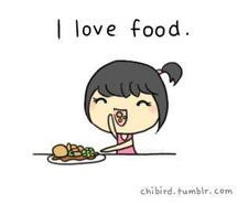 Funny Quotes On Loving Food : Funny Quotes I Love Food. QuotesGram