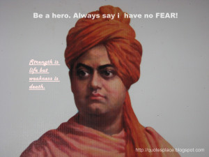 ... is a compilation of some of the famous quotes by Swami Vivekananda