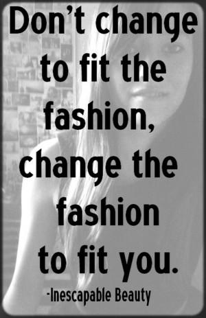 Fashion quotes
