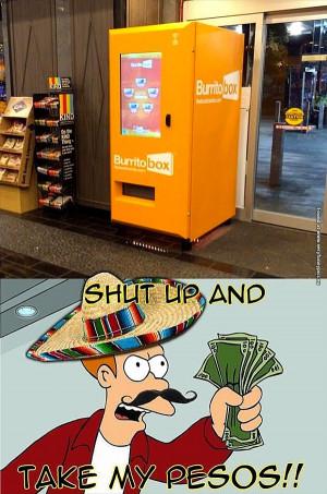 Every store should hava a Burrito Box