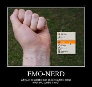 EMO-NERD! WTF