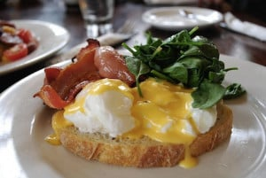 All happiness depends on a leisurely breakfast. -John Gunther