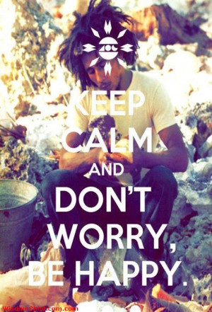 Don't Worry Be Happy Picture Quote