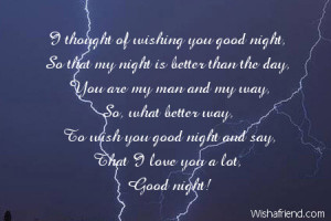 Good Night Quotes To Say To Your Boyfriend ~ Good Night Messages For ...