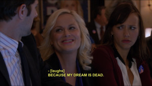 Parks And Recreation Leslie Quotes My Edits Gifs