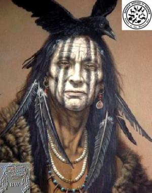 bravehorse warrior kaghswaghtaniunt seneca warrior