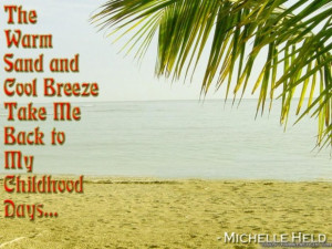 Family quotes summer quote and sayings with picture of the beach