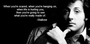Sylvester Stallone Quote
